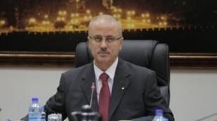 رئيس الحكومة الفلسطينية رامي الحمدالله