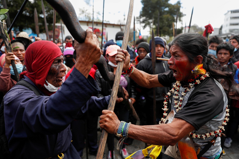 Las comunidades indígenas, quienes protestaron contra la eliminación de subsidios a los combustibles en octubre del 2019, ya anunciaron que volverán a oponerse a las nuevas medidas de austeridad.