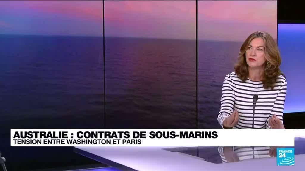 """2021-09-17 10:04 Contrats de sous-marins : """"la France ne fait pas partie du premier cercle des alliés américains"""""""