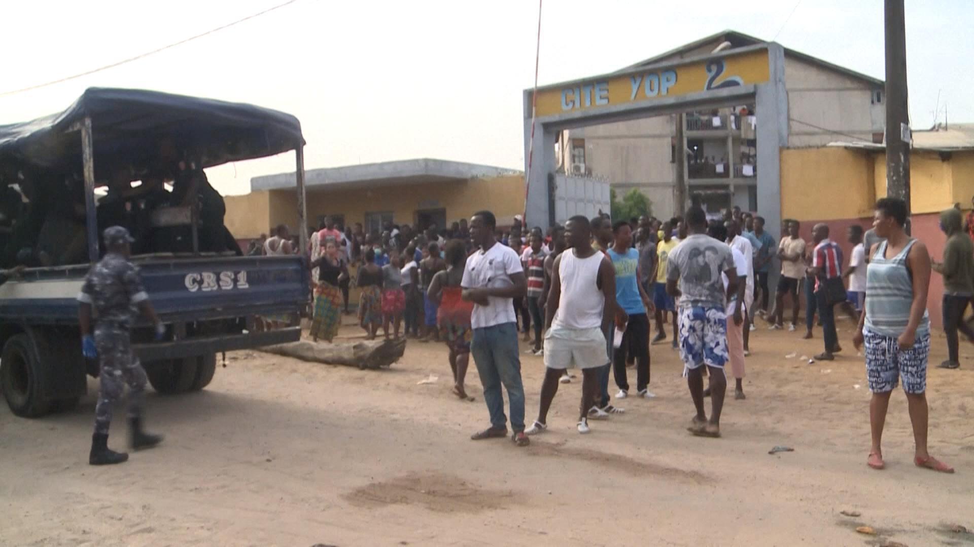 A Abidjan, des affrontements liés à un centre de dépistage du Covid-19