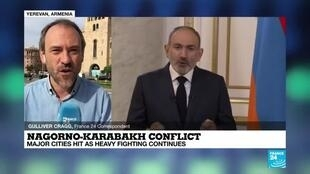 2020-10-05 08:01 Nagorno-Karabakh conflict: Major cities hit as heavy fighting continues
