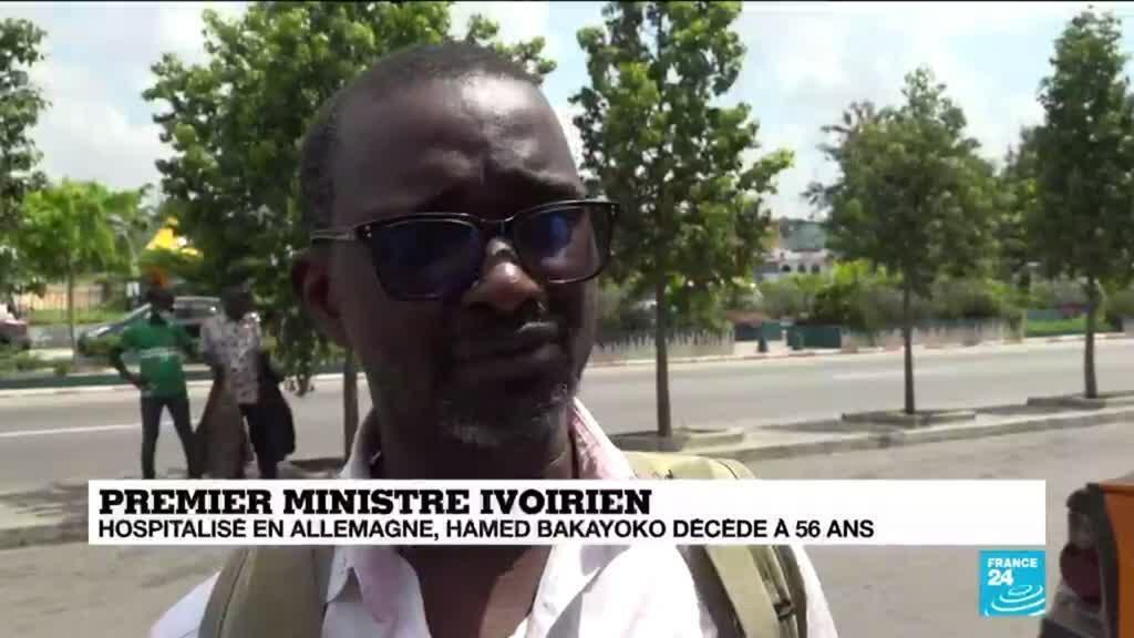 2021-03-11 15:03 En Côte d'Ivoire, les réactions de la population après le décès du Premier ministre Bakayoko