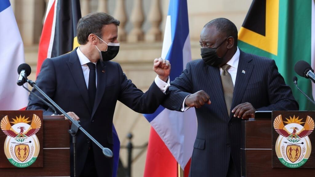 la France et l'Afrique du Sud au diapason sur la levée des brevets