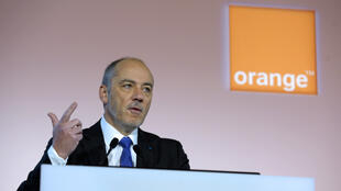 Le patron d'Orange, Stéphane Richard.