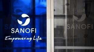 La sede de la farmacéutica Sanofi en París, en una imagen del 27 de marzo de 2020