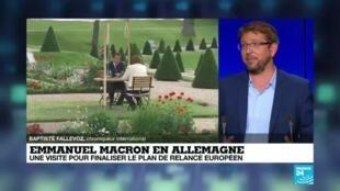 2020-06-29 17:05 Emmanuel Macron en Allemagne : une visite pour finaliser le plan de relance européen