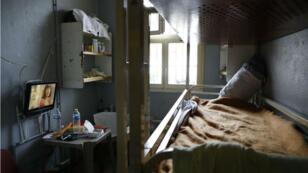 Une cellule de la prison de Fresnes, le 20 septembre 2016.