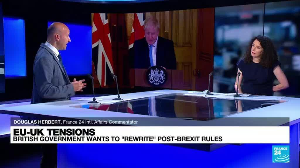2021-07-22 08:03 Brexit deal: London appears to be backtracking on the agreement