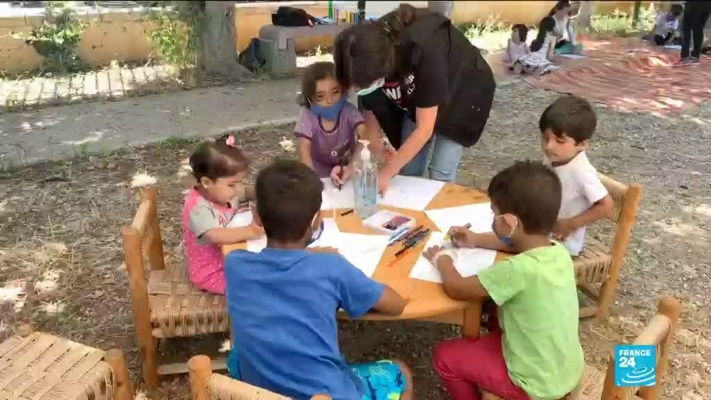 2020-08-26 06:39 Explosion au Liban : les enfants particulièrement traumatisés