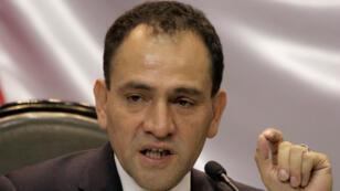 Arturo Herrera después de presentar el presupuesto nacional 2020 en el edificio del Congreso en la Ciudad de México, México, el 8 de septiembre de 2019.