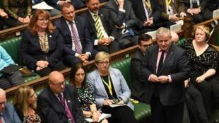 زعيم الحزب الوطني الإسكتلندي (SNP) في مجلس العموم في لندن، بريطانيا، 9 سبتمبر/ أيلول 2019