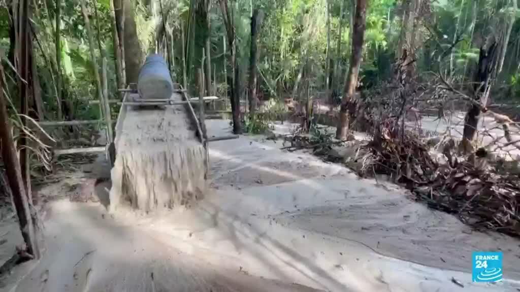 2021-09-07 14:39 La minería en Brasil creció un 300 % dentro de las áreas de conservación