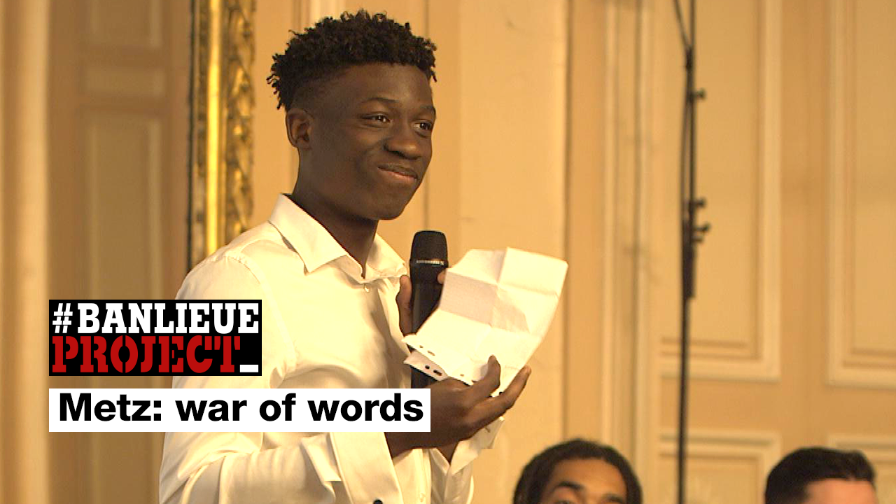 Banlieue Project - War of words: A public speaking competition for teens in French city of Metz