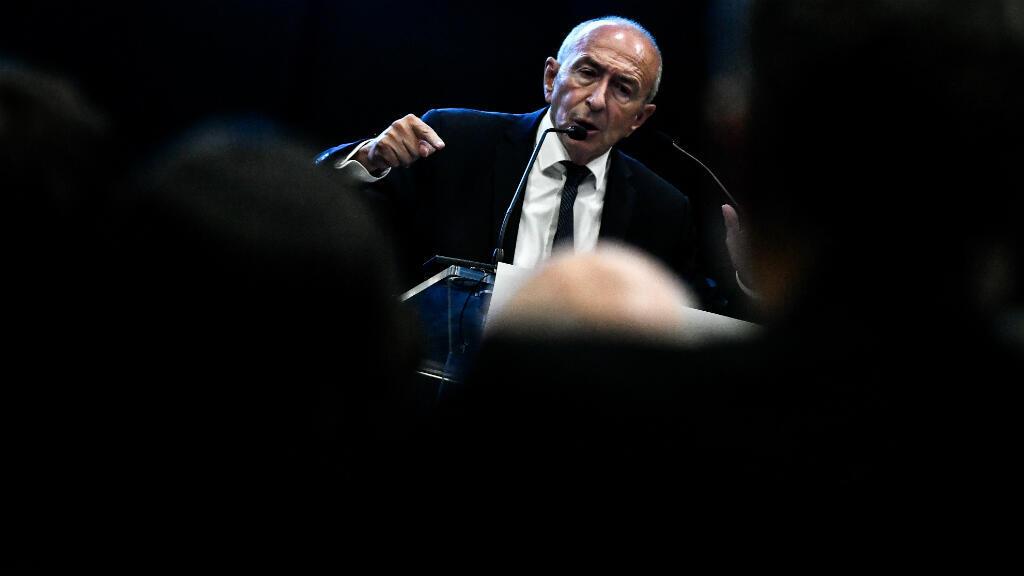 Gérard Collomb lors d'un discours à Lyon, le 29 septembre 2018.