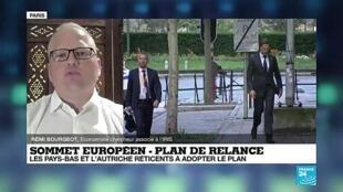 """2020-07-20 16:02 Sommet de Bruxelles : """"Le plan d'une ampleur inédite sur le plan européen est à peu près acté"""""""