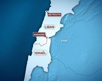 Aadaissé se situe dans le secteur est du sud du Liban.