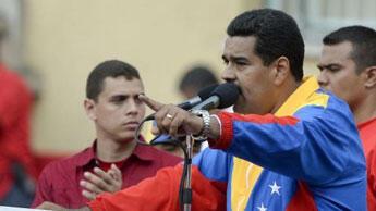 Nicolas Maduro, le nouveau président vénézuélien.