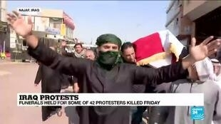 2019-10-26 15:01 Iraq protests: 'People on the streets are turning against the entire political class'