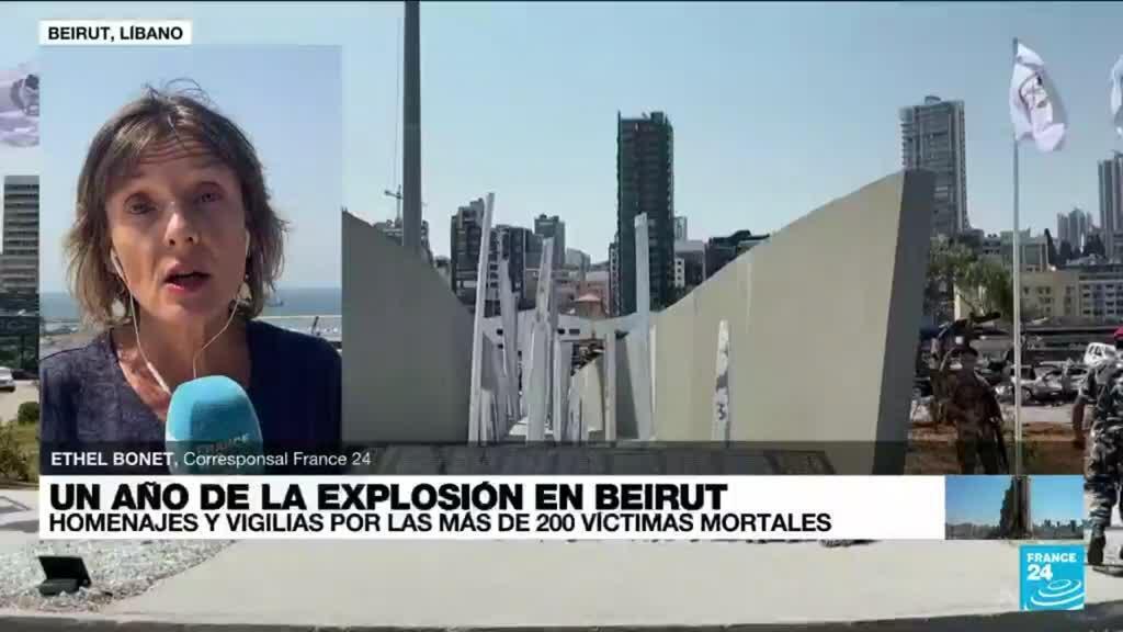 2021-08-04 14:32 Informe desde Beirut: día de luto nacional para conmemorar un año de las explosiones en el puerto