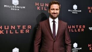 """Hunter Killer"" stars Gerard Butler as an American submarine captain"