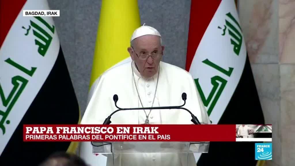 """2021-03-05 14:11 Papa Francisco: """"Que se silencie el choque de armas, que se ponga fin a la violencia y extremismo"""""""