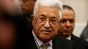 الرئيس الفلسطيني محمود عباس. في 2016/12/03