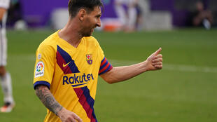 Lionel Messi notched his 20th assist of the season in Barcelona's 1-0 win over Real Valladolid on Saturday.