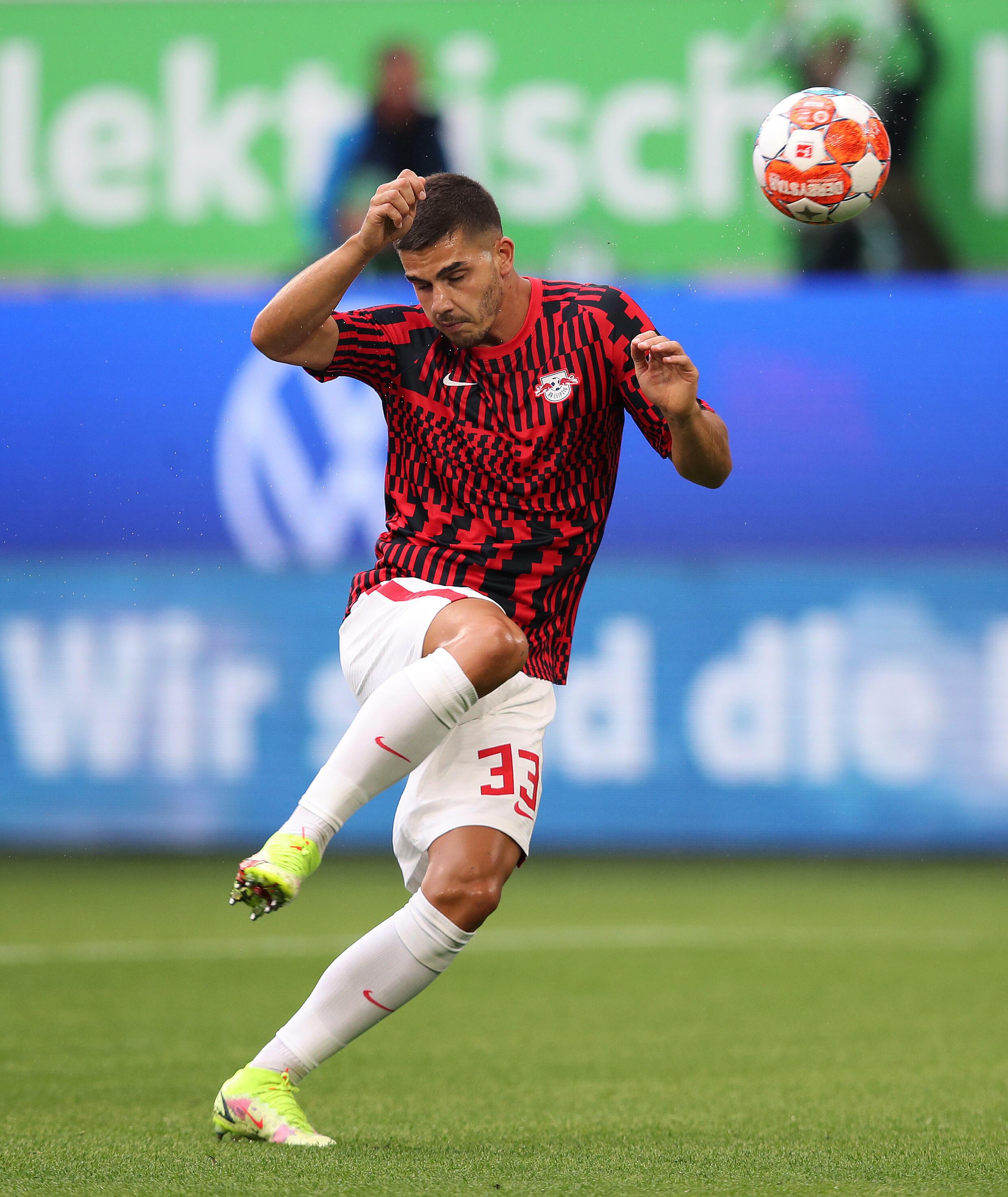L'attaquant portugais Andre Silva ahd a marqué un but en sept matchs pour Leipzig