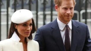 الأمير هاري وخطيبته ميغن ماركل.