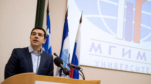 En avril, la Grèce a honoré son remboursement au FMI, son Premier ministre, Alexis Tsipras, se trouve à Moscou.