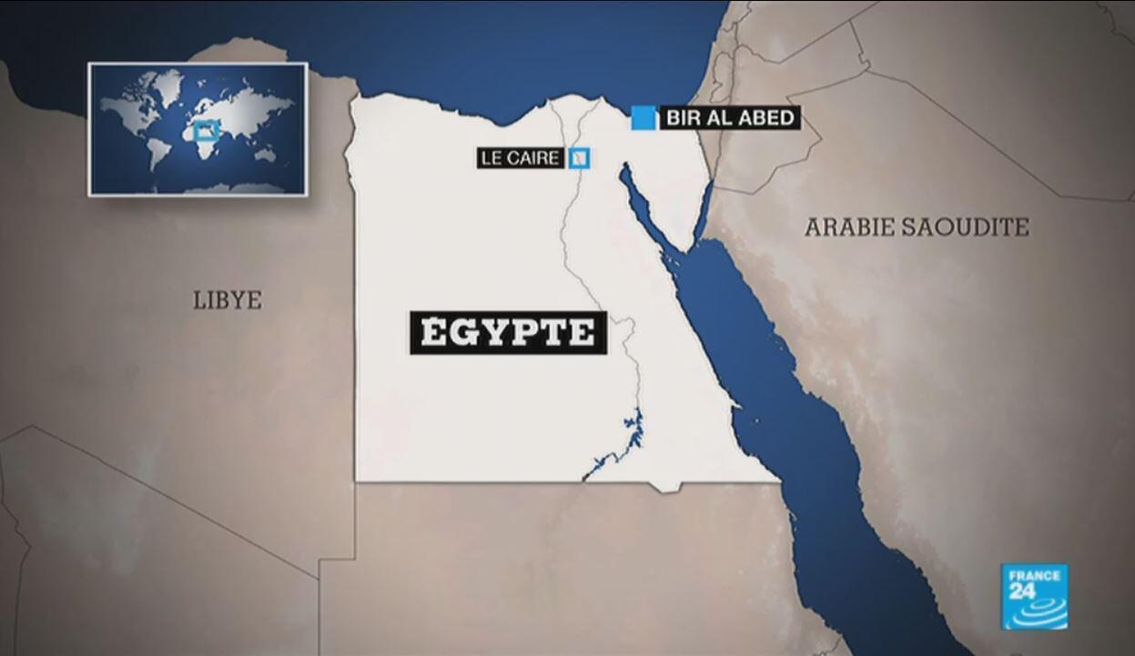 L'attaque a eu lieu dans un village de la province du Nord-Sinaï