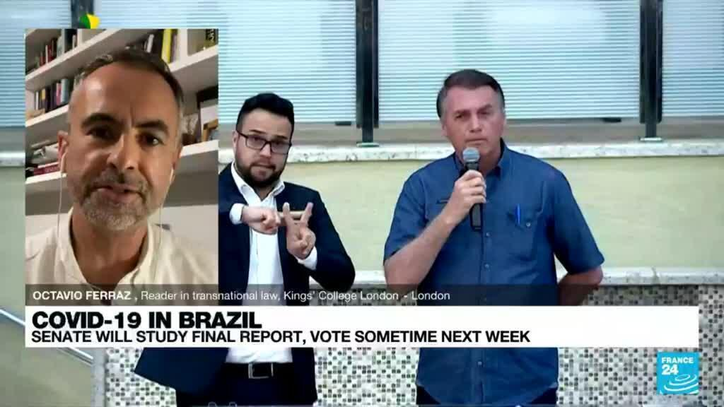2021-10-20 20:03 Brazil Covid-19 Investigation: 'Very serious allegations against the president'