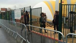 مركز استقبال المهاجرين في باريس