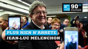 Jean-Luc Mélenchon est le candidat de La France insoumise à la présidentielle 2017.