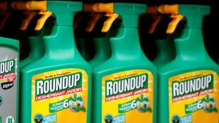 Le désherbant Roundup, à base de glyphosate, est le produit phare du groupe Bayer (qui a racheté Monsanto).