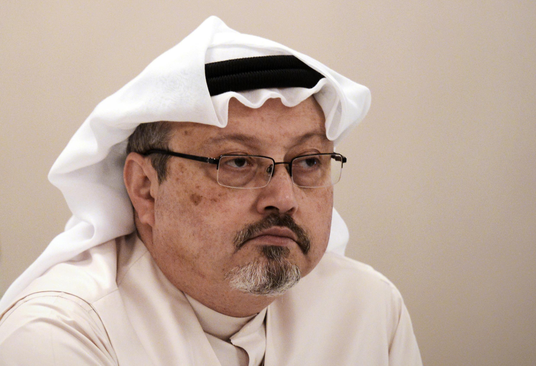 Saudi journalist Jamal Khashoggi shown in a 2014 file picture