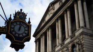 بنك إنكلترا وسط العاصمة لندن
