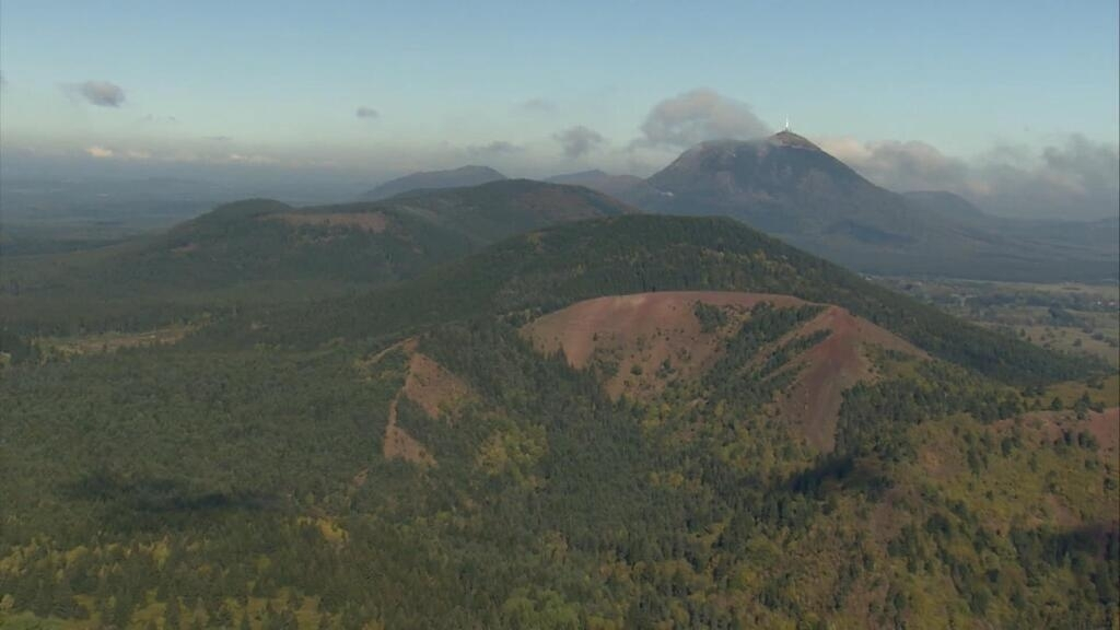 Treasures of the volcanoes: France's Auvergne mountains
