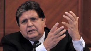 رئيس بيرو السابق آلان غارسيا كان قيد التحقيق في فضيحة فساد