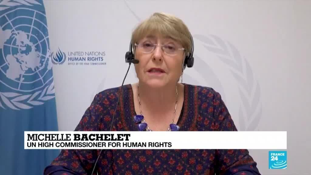 2021-05-28 08:05 UN rights chief says Israeli strikes on Gaza may be war crimes