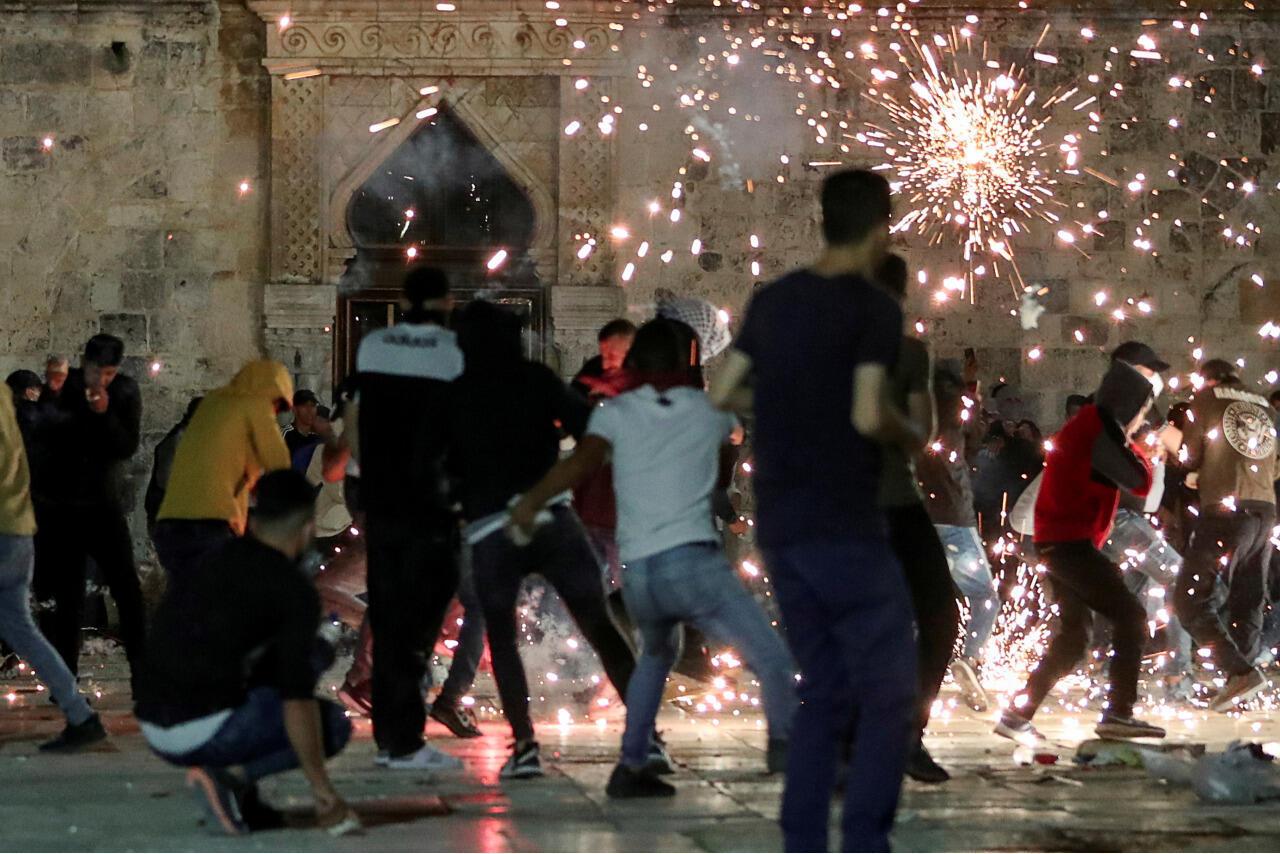 Jerusalem clashes Al-Aqsa mosque