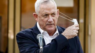 Benny Gantz s'est prononcé mardi 1er décembre pour une dissolution du Parlement israélien. (Image d'archive)