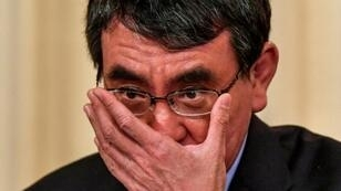 Foreign Minister Taro Kono has bemused Japanese social media with his tweet