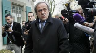 Michel Platini, dans la tourmente depuis la mi-octobre.