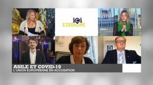 ICI L EUROPE - Débat Asile et Covid