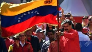 Venezuelan President Nicolas Maduro is accusing the American government of manufacturing a crisis in an attempt to start a war in South America