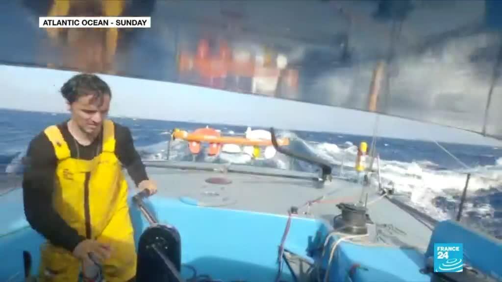 2020-11-16 08:23 Vendée Globe: Brit Alex Thomson takes the lead in sailing race