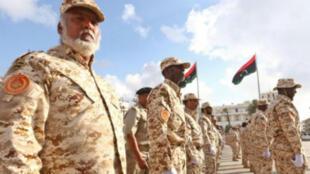 عرض عسكري بمناسبة الذكرى الـ75 لتأسيس الجيش الليبي في طرابلس 13 آب/أغسطس 2015