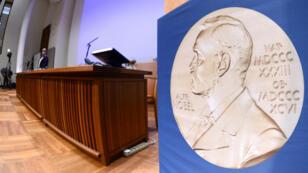منحت الجائزة لأول مرة عام 1901 تكريما للإنجازات التي تتحقق في مجالات العلوم والآداب والسلام