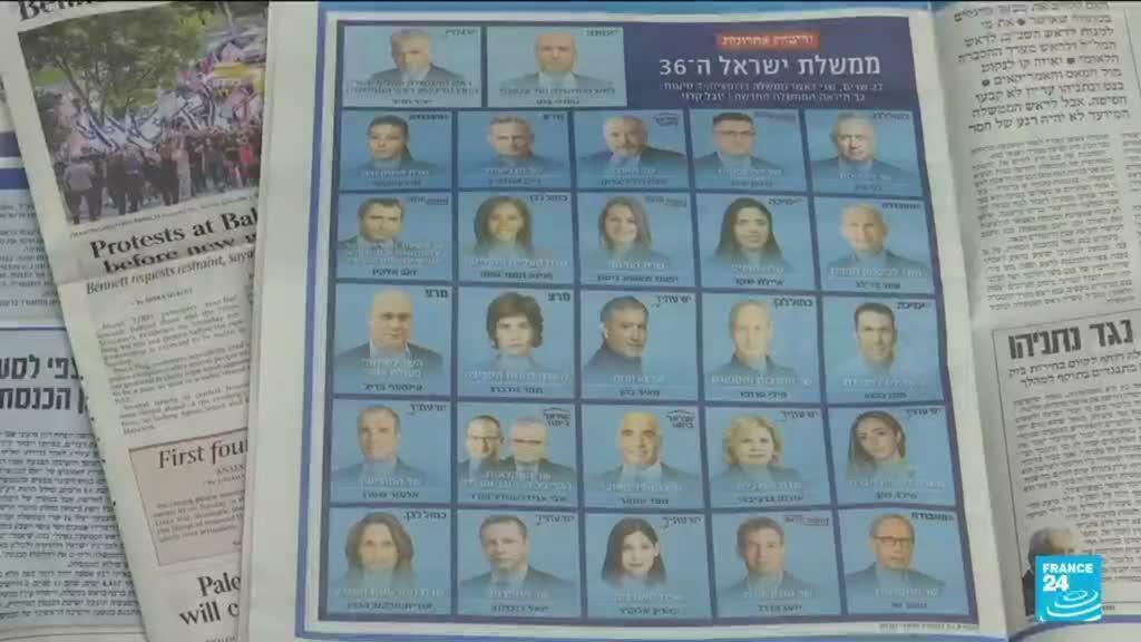2021-06-14 17:05 Nouvelle coalition en Israël : alliance historique allant de la gauche à l'extrême droite